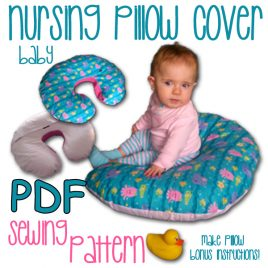 Mom and Baby Nursing Pillow Covers