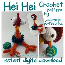 Sidekicks Crochet Patterns.