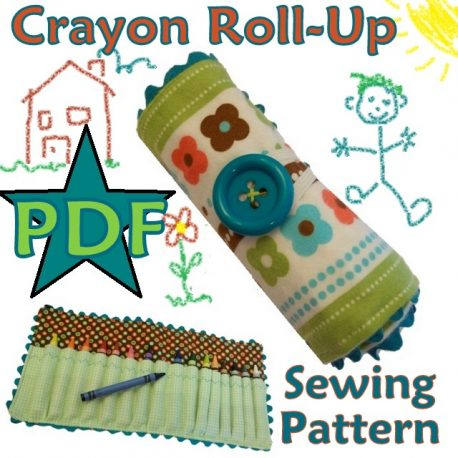 Crayon Roll Up Pattern