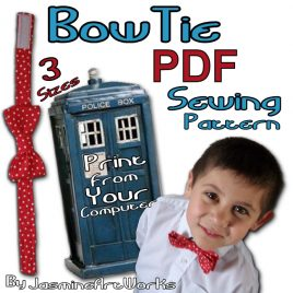 Bow Tie Sewing Pattern