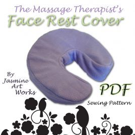 Face Rest Cover Sewing Pattern