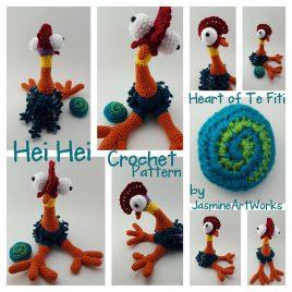 Hei Hei Chicken Crochet Pattern