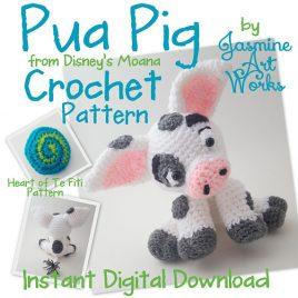 Pua Pig Crochet Pattern