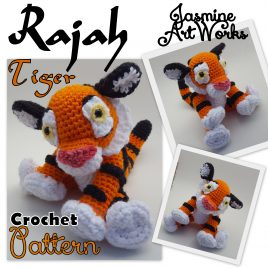 Rajah Tiger Crochet Pattern