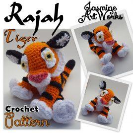 Rajah Tiger Crochet Pattern