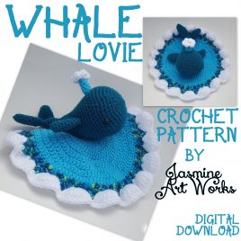 Whale Lovie Crochet Pattern