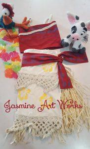 Moana Costume Jasmine Art Works