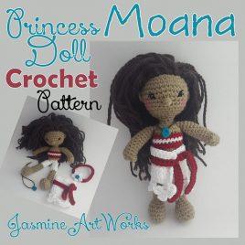 Moana Doll Crochet Pattern