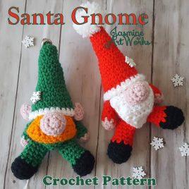 Santa Elf Gnome Crochet Pattern