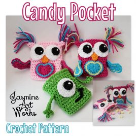 Candy Pocket Owl Monster