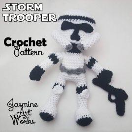 Storm Trooper Clone Trooper Crochet Pattern