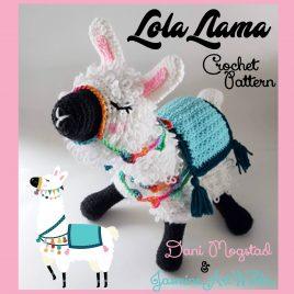 Lola Llama Alpaca Crochet Pattern