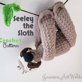 Seeley the Sloth Crochet Pattern