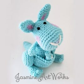 Katie Kangaroo Crochet Pattern