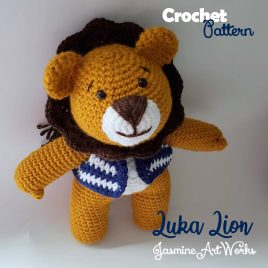 Luka Lion and Lovie Crochet Pattern