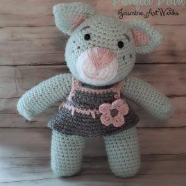 Purrfect Pearl Kitten Crochet Pattern
