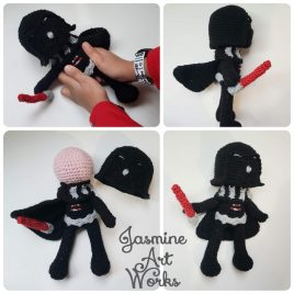 Dark Villain Crochet Pattern