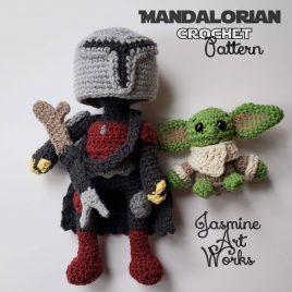 Mandalorian Crochet Pattern