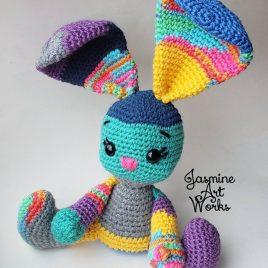 Scrappy Bunny Crochet Pattern