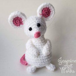 Eeny, Meeny & Mo Mouse Crochet Pattern